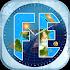 Flat Earth Sun, Moon & Zodiac Clock