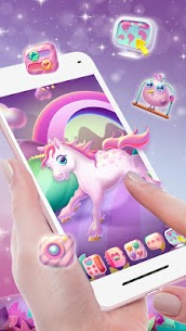 Pink Unicorn Launcher Theme Live HD Wallpapers 1.0 Android APK Mod 2