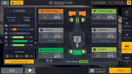 Motorsport Manager Mobile 2 v1.1.3 MOD APK 3