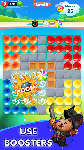 Kitty Bubble : Puzzle pop game 1.0.3 screenshots 3