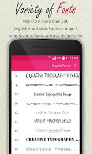 Creative Typography Design 3.9 Screenshots 8