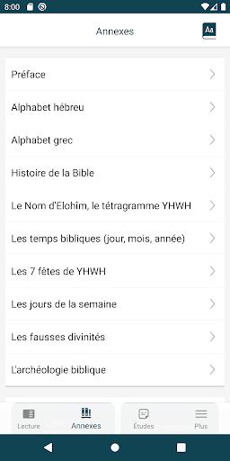 Bible de Yéhoshoua Mashiah  screenshots 2