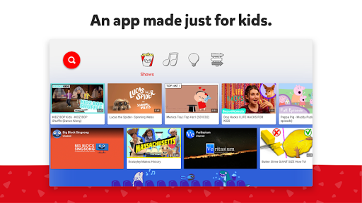 YouTube Kids for Android TV 1.12.02 Screenshots 1