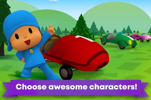 Pocoyo Racing: Kids Car Race - Fast 3D Adventure  screenshots 1