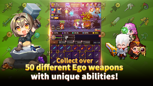 Weapon Heroes : Infinity Forge(Idle RPG)  screenshots 14