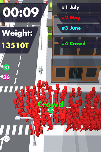 Crowd Buffet - Fun Arcade .io Eating Battle Royale android2mod screenshots 1