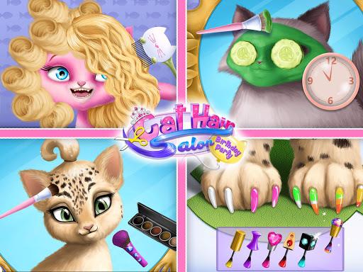 Cat Hair Salon Birthday Party - Virtual Kitty Care 8.0.80007 screenshots 24