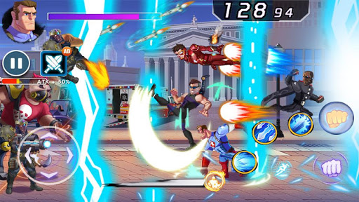 Captain Revenge - Fight Superheroes modavailable screenshots 6