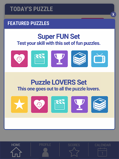 Daily POP Word Search 1.0.5 screenshots 10