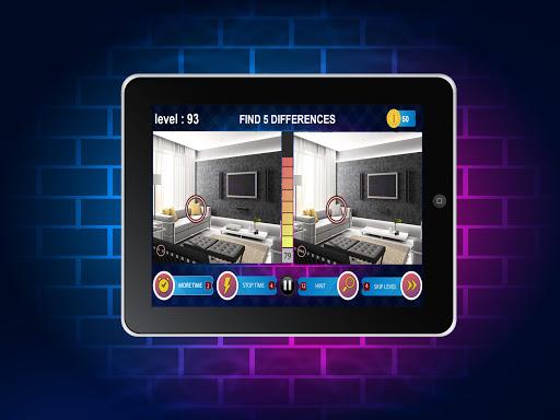 Spot 5 Differences 1000 levels 1.6.8 screenshots 20