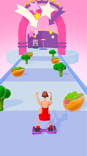 Body Race Challenge : Fat 2 Fit! apkpoly screenshots 1