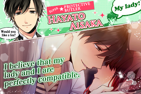 Diamond Girl: Otome games otaku dating sim Screenshot