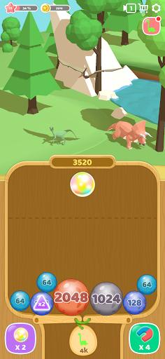 Dino 2048: Merge Jurassic World 1.0.9 screenshots 2