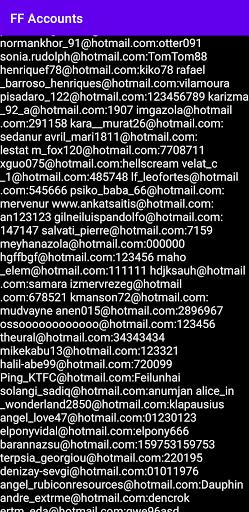 FF Accounts screenshots 6