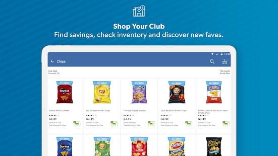 Sam's Club Screenshot