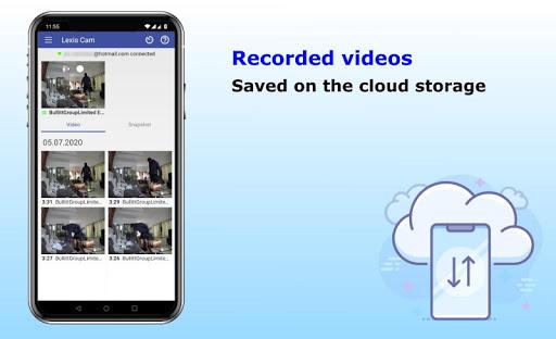Security camera for smartphones, Lexis Cam  Screenshots 2