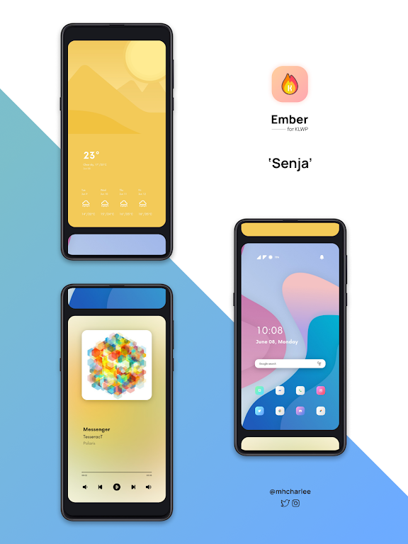 Ember for KLWP  poster 6