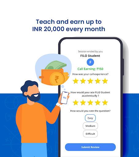 Filo Tutor: Teach Students  & Earn Money Online android2mod screenshots 4