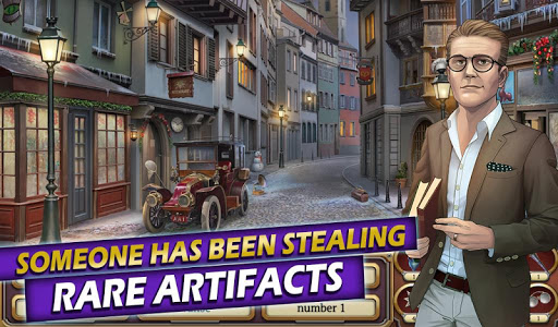 Time Crimes Case: Free Hidden Object Mystery Game  screenshots 4