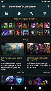 Summoner's Companion for LoL For Pc (2020), Windows And Mac – Free Download 1