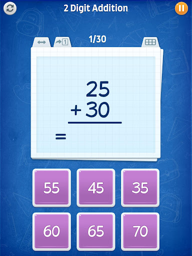 Math Games - Addition, Subtraction, Multiplication apkslow screenshots 16
