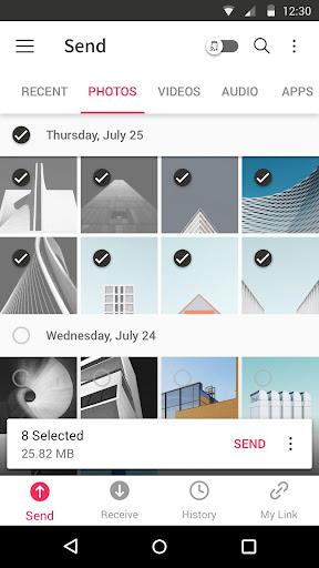 Send Anywhere (File Transfer) 21.6.3 Screenshots 1