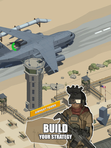 Idle Warzone 3d: Military Game - Army Tycoon screenshots 10