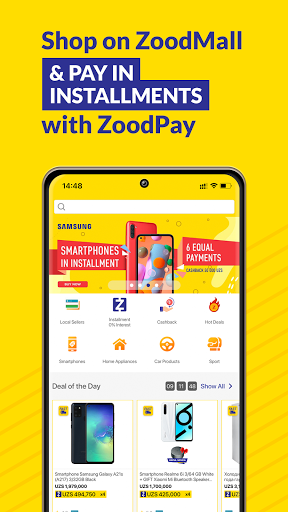 ZoodMall & ZoodPay: Buy now, Pay in Installments  screenshots 1