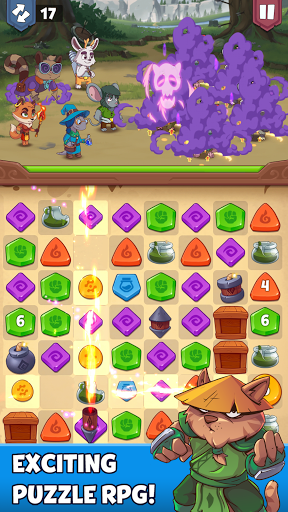 Heroes & Elements: Match 3 Puzzle RPG Game screenshots 6