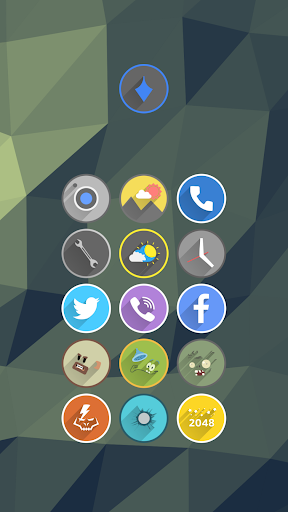 Velur - Icon Pack  screenshots 5