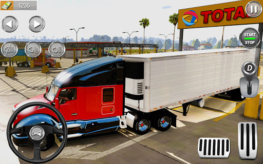 American Cargo Truck Simulator : Truck Driving Sim 1.1 screenshots 7