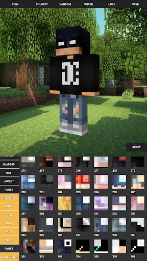 Custom Skin Creator For Minecraft apktram screenshots 2
