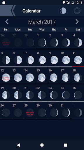 The Moon - Phases Calendar 3.1 Screenshots 2