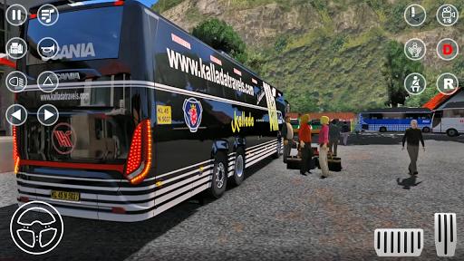 Public Coach Bus Transport Parking Mania 2020 screenshots 3