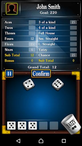 Yachty Dice Game ud83cudfb2 u2013 Yatzy Free  screenshots 2