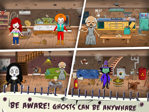 Mini Town: Horror Granny House Scary Game For Kids 2.2 screenshots 13