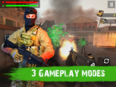 Zombie Shooter Hell 4 Survival Mod Apk (UNLIMITED REWARD GOLD) 10