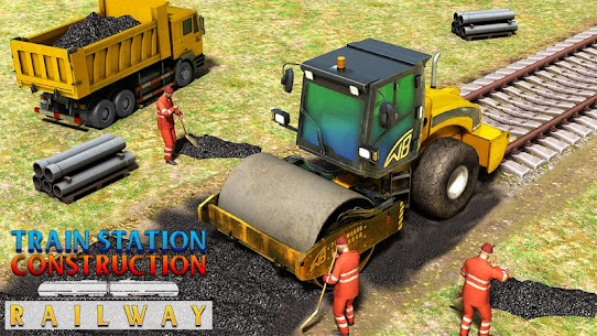Train Station Construction Railway 1