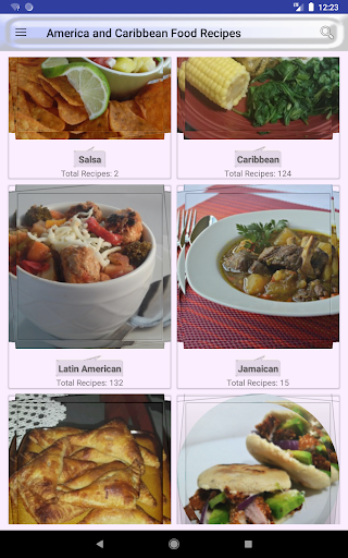 ufeffAmerica and Caribbean Food Recipes 2.0 screenshots 14