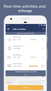 Timesheet Express - Work Time, GPS & Route Tracker