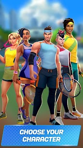 Tennis Clash Mod APK [3D Sports] 1v1 Free Online Sports Game 4