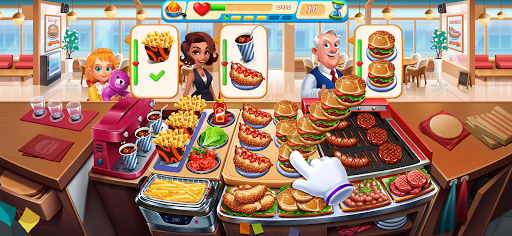 Cooking Marina - fast restaurant cooking games android2mod screenshots 10