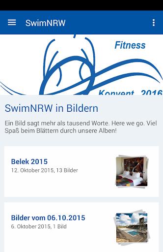 schwimmverband nrw e.v. screenshot 1