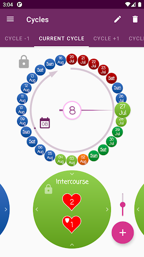 OvTracker - Ovulation Tracker screenshots 2