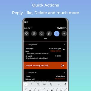 Bridge – mirror notifications (notification sync) (MOD APK, Premium) v3.1 5