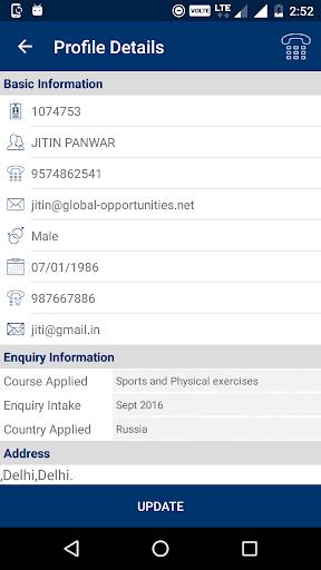 global opportunities. screenshot 3