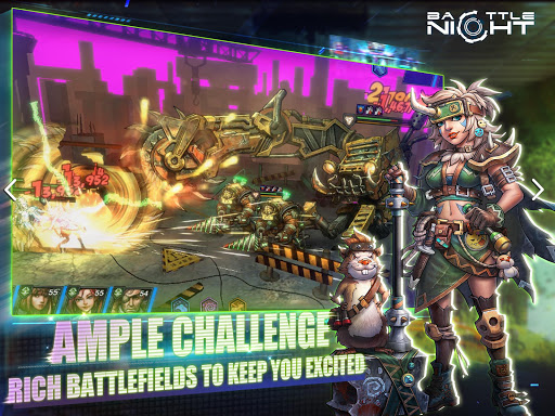 Battle Night: Cyber Squad-Idle RPG  screenshots 21