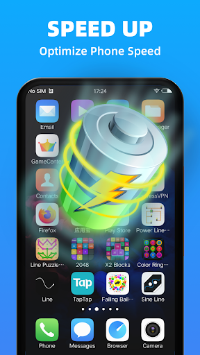 Fast Cleaner - Freeup phone space, junk& boost ram android2mod screenshots 4