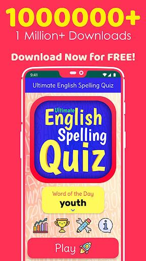 Ultimate English Spelling Quiz : New 2020 Version 2020.33 screenshots 1
