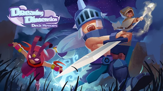 Dreaming Dimension Mod Apk: Deck Heroes (Unlimited Coins) 1